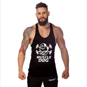Muscle Dog Stringer Tank Top