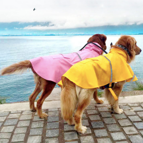 Waterproof Reflective Dog Raincoat