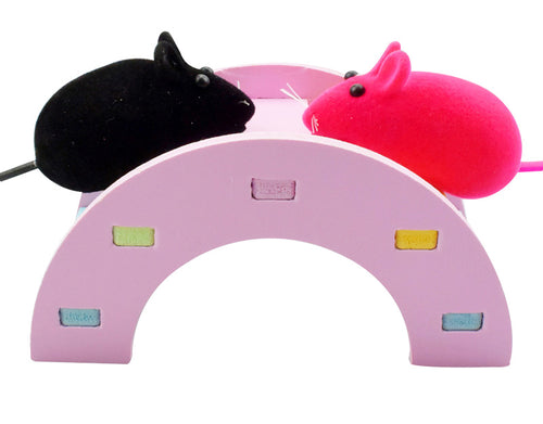 Hamster Guinea Pig Wooden Rainbow Bridge