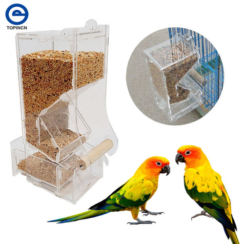 Acrylic Automatic Bird Feeder