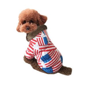 Britain/US Flag Pattern Autumn/Winter Jacket