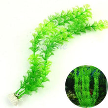 Decorative Green Aquarium Plant (Synthetic)
