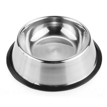 Non-Slip Stainless Steel Feeding Bowl - Cats/Dogs