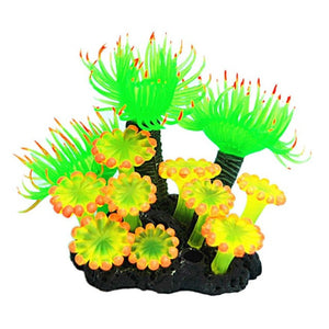 Vibrant Resin Aquarium Ornament (Synthetic)