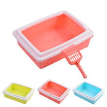 Spill Resistant Cat Litter Tray with FREE Scoop!