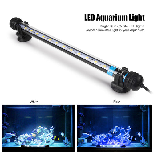 Submersible 12 LED Aquarium Light