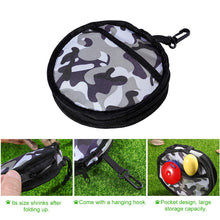 UEETEK Waterproof Collapsible Travel Dog Bowl