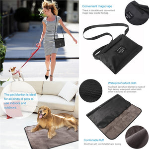 UEETEK Multi-functional Waterproof Pet Blanket