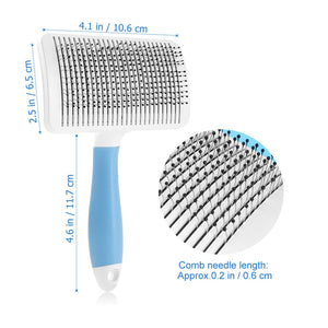 UEETEK Self-Cleaning Detangle/Loose Hair Removal  Slicker Brush