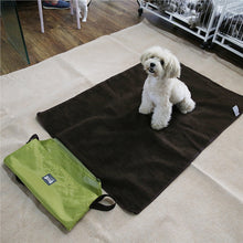 Foldable Pet Mat - Waterproof with Lambs Wool Lining