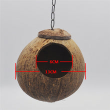 Natural Coconut Bird Nest for Small Birds
