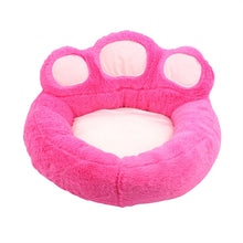 Paw Shaped Super-Soft Pet Bed