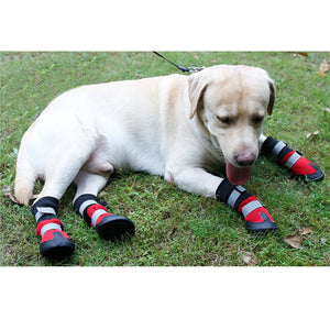 Anti Slip Protective Dog Boots