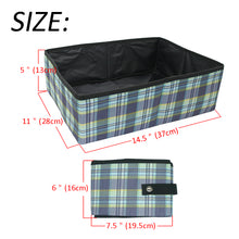 Travel Friendly Foldable and Portable Cat Litter Tray