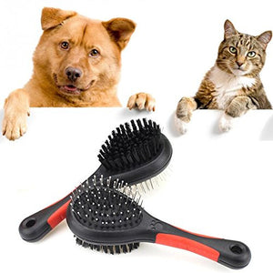 Double-Sided Hair Grooming Brush - Dog/Cat