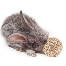Natural Woven Grass Ball for Rabbits