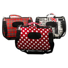 Trendy Patterned Pet Carrier