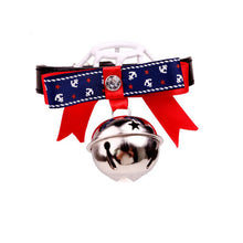 British Style Bow Tie Bell Collar - Cats/Dog