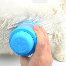 2-in-1 Soft Brush and Shampoo Dispenser for Dogs/Cats