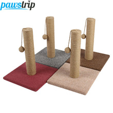 Sisal Rope Cat Scratching Post with Play Ball