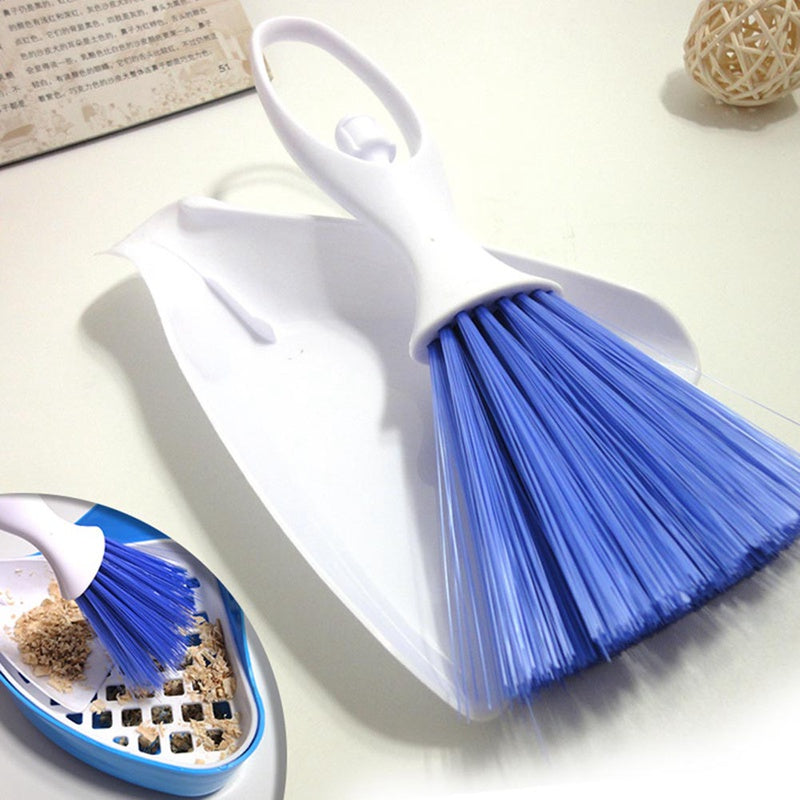 Small Animal Litter Tray Dustpan and Brush