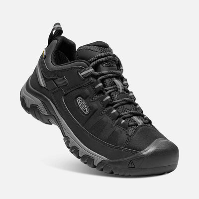 Mens Targhee Exp Wp Black/Steel Grey