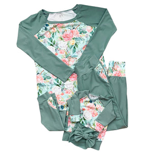 Mommy and Me Jogger and Raglan Set