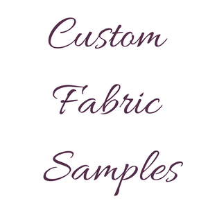 Custom Fabric Printing - Samples