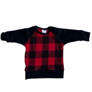 Buffalo Plaid Raglan - Made to Order