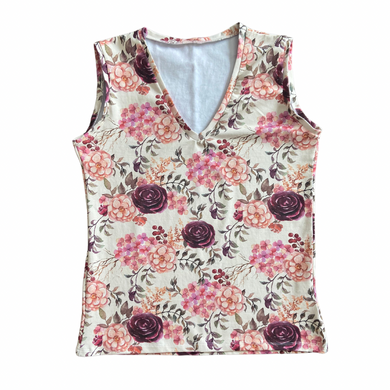Women's V Neck Tank Top