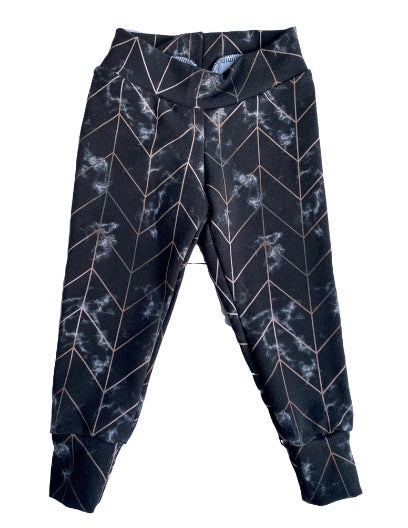 Inverted Marble Leggings - RTS