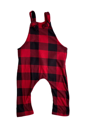 Buffalo Plaid Overalls - Made to Order