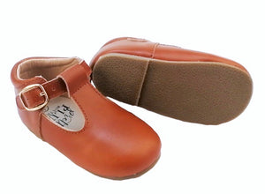 Classic Brown - Mary Jane/T-Bar Shoes - Baby & Toddler