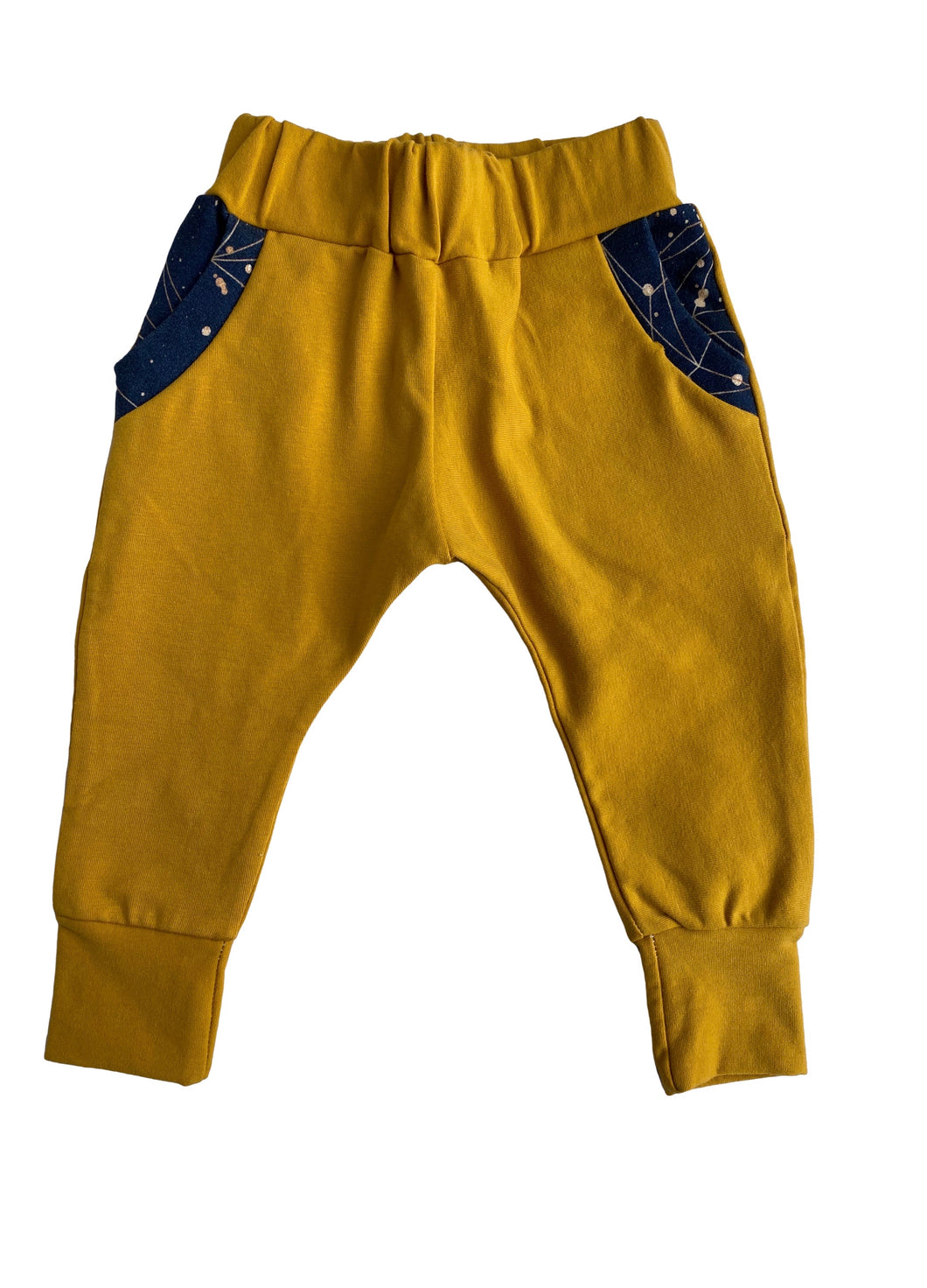 Harvest Gold & Guilded Space Joggers - RTS