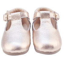 Rose Gold - Mary Jane/T-Bar Shoes - Baby & Toddler