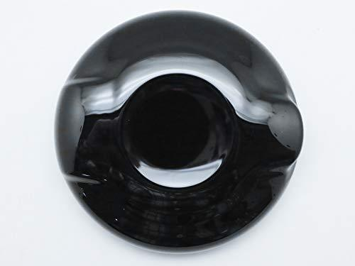 (1) Black Fuel Gas Oil Tank Cap Overlay Cove For 2014 and up S models F54 F55 F56 F57 F58 F59 Mk3