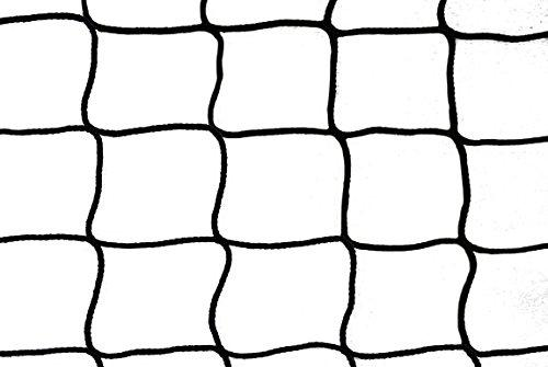 1 Pair Ice Hockey Nets 1.85 m x 1.22 m – # 4.0 cm Cord 4,0 mm, in Selection of Colours, Black