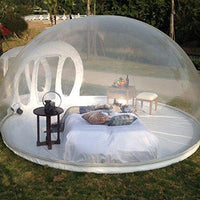 1 pcs Outdoor Multi-Person Bubble Tent House Inflatable,Family Camping  Backyard Transparent Air Dome Tents with Free CE/UL Blower And Repair kit,  B,