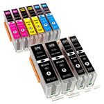 10 Compatible Printer Ink Cartridges for Canon Pixma MG 5700 5750 5751 5752 5753 6800 6850 6851 6852 6853 7700 7750 7751 7752 7753