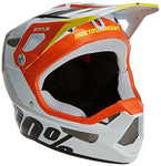 100% Kids' Status DH/BMX Helmet, D-Day White, Youth SM