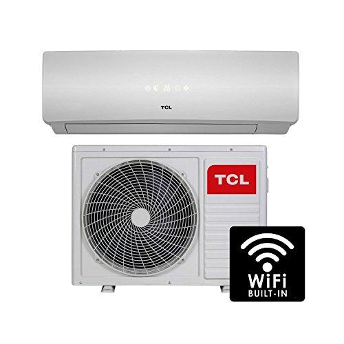 12000 BTU Smart WiFi A++ easy-fit DC Inverter Wall Split Air Conditioner with 5 meters pipe kit - Wall Mounted Air Conditioning Unit with 5 years warranty