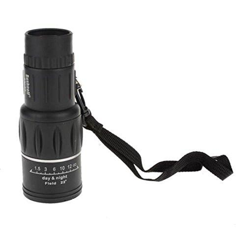 16x52 BUSHNELL Magnification Green Film Coating Lens Night and Day Vision Telescope Monocular