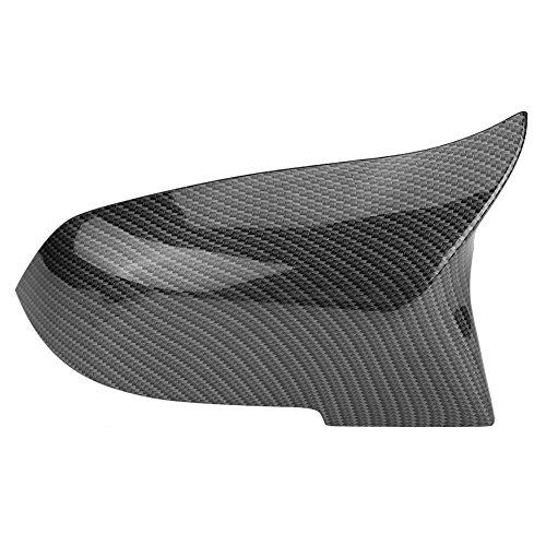 1Pair Car Rearview Mirror Caps Wing Mirror Cap F30 F32 Carbon Fiber F20 F10 Mirror Covers
