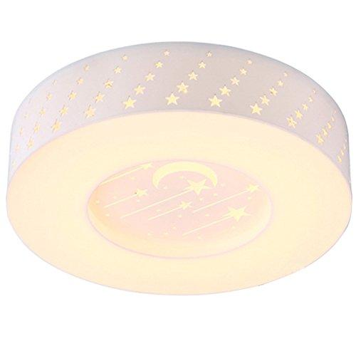 "20"" Cute Star Kid's Room Ceiling Lamp Creative LED Acrylic Bedroom Ceiling Lamps Girl's Room Ceiling Lights"