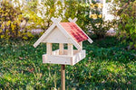 """24.006"" Bird House Self-Assembly Kit - Red"
