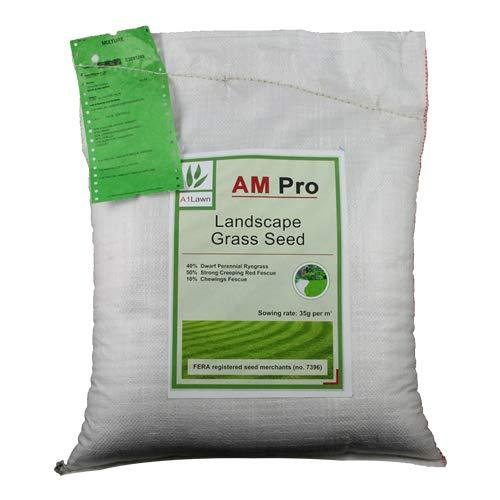 25kg Top Quality Grass Seed/Lawn Seed - (A1LAWN AM Pro Landscape) - covers approx. 714 sq metres - DEFRA registered