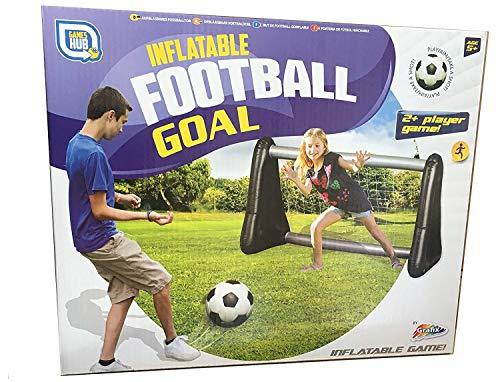 3 X Kids Inflatable Football Goal Net Outdoor Game Toy