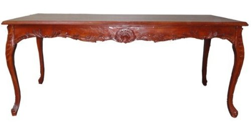 Casa-Padrino baroque dining table brown (mahogany color) 240 cm - baroque table antique style furniture