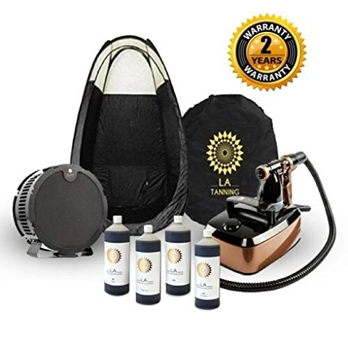 LA Tanning Company Machine/Tent/Tan and Extractor Professional Spray Tanning Kit