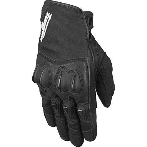 4373-1 XL - Furygan Graphic Ladies Motorcycle Gloves XL Black